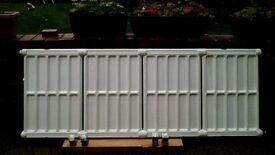 Art deco radiator