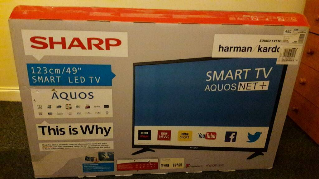 New 50 inch Sharp Smart Full HD LED - with Warranty