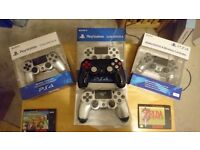 SONY PlayStation 4 Official DualShock 4 Controllers (Pick your colour!)