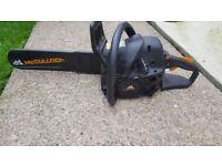 McCulloch CS 400T Petrol Chain Saw