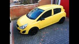 2012 Vauxhall Corsa 1.2 long Mot 41000 very low mil3age £2500 bargain