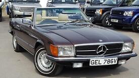 MERCEDES SL 350 SL GREAT LOOKING VERY LOW MILEAGE AND LOW OWNERSHIP R107 1980 MODEL 1980