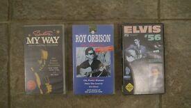 Frank Sinatra, Elvis & Roy Orbison Videos