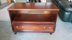 Solid Wood Table / TV Unit