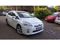 TOYOTA PRIUS 10 PLATE TSPIRIT PCO VALID REVERSE CAMERA NAVIGATION BLUTOOTH HPI CLEAR WARRANTED MILE
