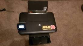 HP 3055A printer with new black ink