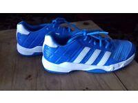Adidas squash shoes. Size 4.5.