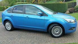 2008 Ford Focus 1.6 Titanium 61K miles , FSH, MOT with No advisories 12 mth warranty available