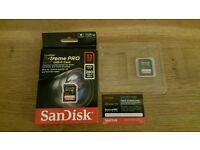 Genuine SanDisk Extreme Pro 280MB/s UHS-II Card