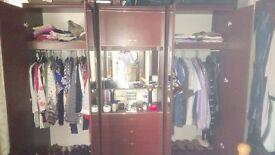 3-piece wardrobe
