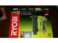 Bnib Ryobi R18N18G-0 18 gauge nail gun Ryobi one