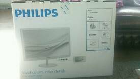 "27"" Philips LCD monitor with Software Technology 277E6"