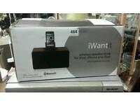 Iwantit wireless speaker