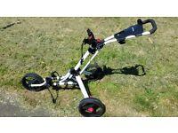 i - Cart uno Golf Trolley.