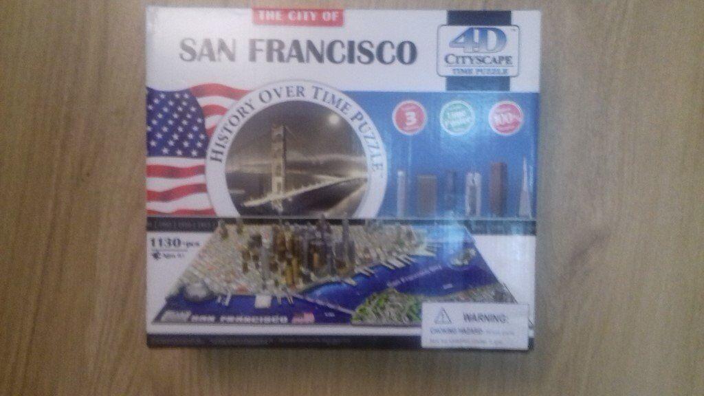 4D CITYSCAPE TIME PUZZLE JIGSAW SAN FRANCISCO