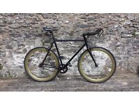 Fixed gear / freewheel single speed bicycle bike fixie road bike