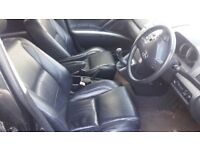 Toyota corolla verso leather interior