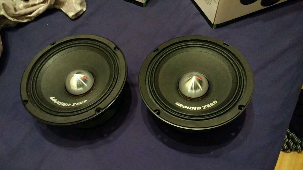 ground zero competition car audio 6 5 inch mid pa speakers. Black Bedroom Furniture Sets. Home Design Ideas