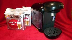 Tassimo Coffee Machine with coffee pods