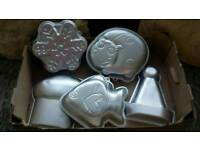 Wilton novelty baking tins