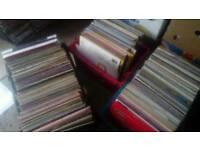 340 LP records job lot