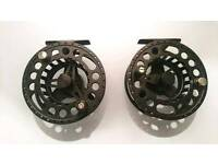 Greys GX500 fly reels and Airflo fly lines Fly Fishing