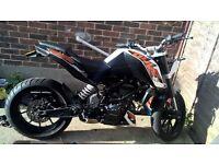 KTM Duke 125cc ABS 2016