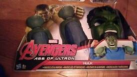 Hulk muscles and mask new
