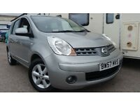 2008 NISSAN NOTE ACENTA SILVER 1.4 FULL SERVICE HISTORY LOW MILEAGE EXCELLENT