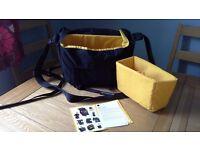 Camera messenger bag