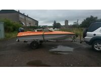 Speedboat for sale.