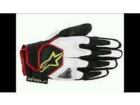 Alpinestars scheme motorcycle gloves L