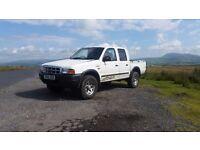 2002 Ford Ranger 2.5 TD 12 Month MOT