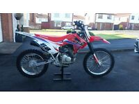 Honda CRF 125 big wheel 2017 MINT