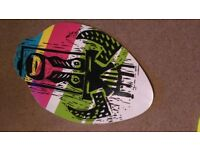2x skim boards great for teenagers (or adults!!!) on the beach to go with your wetsuit bodyboard etc