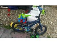 Ben 10 Boy's Bike