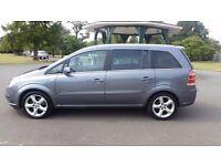 Vauxhall ZAFIRA SRI CDTI 150 Diesel E4, MPV, 5-door 7 seater