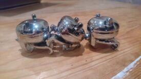 Dunnet R class clamps x3