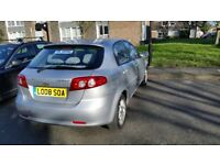 Chevrolet LACETTI Low mileage and two previous owners only