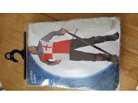 Crusader Knight costume, Adult size, excellent condition.