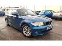 BMW 1 SERIES 118d £3695 WITH FULL BMW SERVICE HISTORY