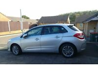 Citroen c4 vtr+ hatch back. 1.6 diesel 90 hp. £20.00 road tax.