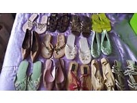 JOB LOT of Ladies shoes, sandals and boots - Size 3 Good Condition - Make money - GREAT FOR RESALE!