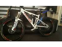 Up for swap or sell is my Commercial Combi-S Full suspension downhill bike