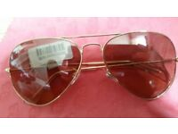 New In box with tags ray ban aviator sunglasses. Free local delivery