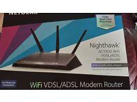 Netgear Nighthawk Wi-Fi VDSL/ADSL Modem Router