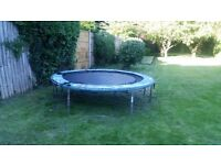 Large trampoline without net in well used condition must collect before Mon 25th