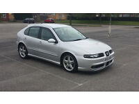 SEAT LEON 1.8 20V TURBO CUPRA DECATTED REMMAPED AND MUCH MORE SOUNDS AWESOME AND GOES WELL MOTED
