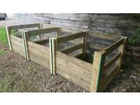 Compost bin hand made