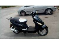 Btm 50 cc moped only done 410 miles